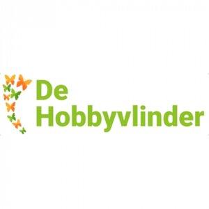 De hobbyvlinder logo