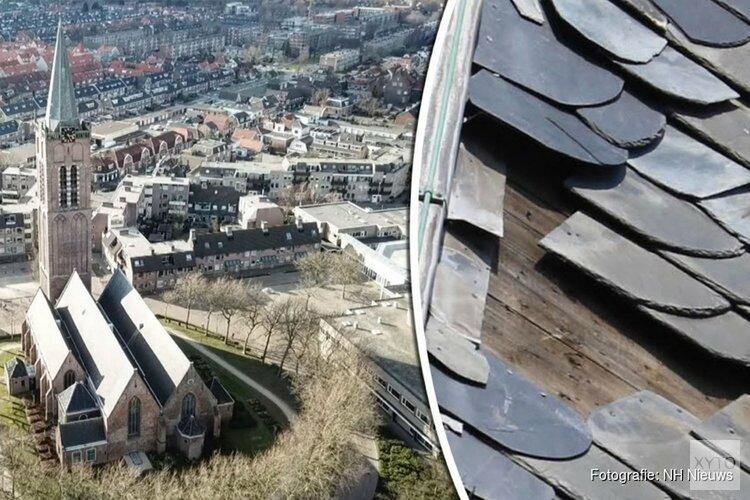 Schade aan Beverwijkse Wijkertorenspits wordt vandaag verholpen