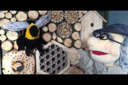 Een bijvriendelijke poppenvoorstelling op Kinderboerderij de Baak