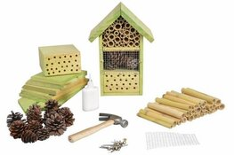 Insectenhotel maken op Kinderboerderij De Baak