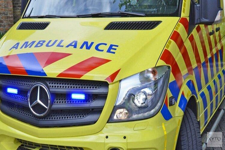 Scooterrijdster gewond bij ongeval op Spoorsingel