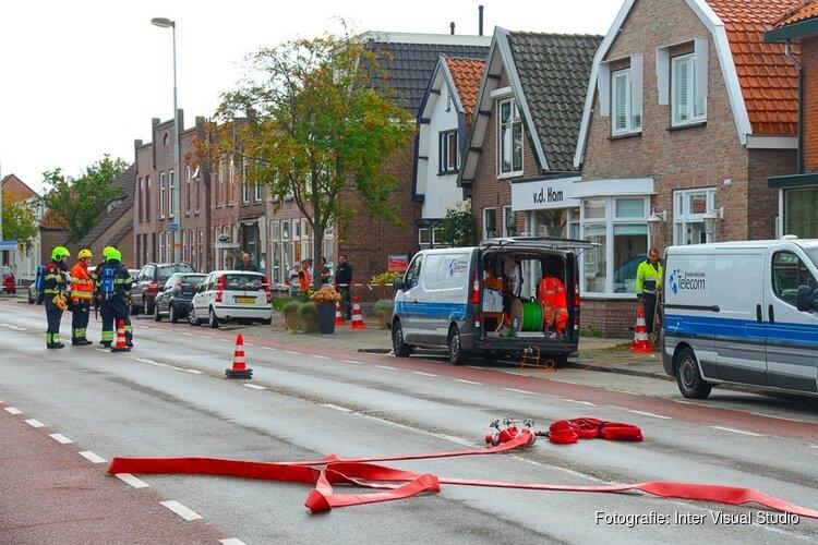 Gaslek in Beverwijk