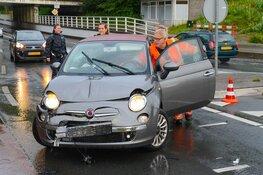 Twee gewonden bij aanrijding op rotonde Zeestraat