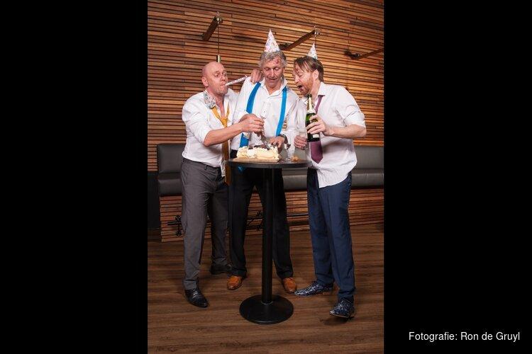 Maarten, Arend en Erik nog één keer met z'n drieën  Niet Schieten! 25 jaar Lust en Leed