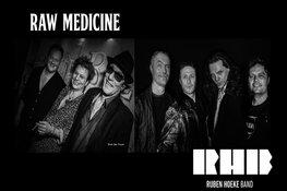Vrijdag 4 oktober Raw Medicine en Ruben Hoeke in de loods van het Muziekfort Beverwijk