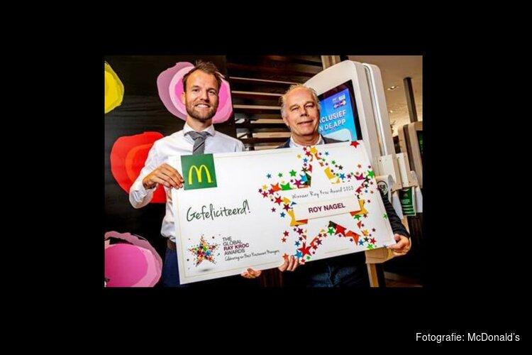 McDonald's Restaurant Manager uit Beverwijk wint prestigieuze internationale Ray Kroc Award