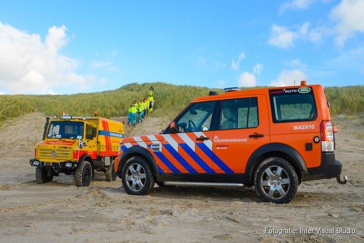 Weer ongelukken met paragliders op strand Wijk aan Zee
