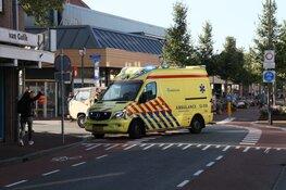 Fietsster naar ziekenhuis na aanrijding in Beverwijk