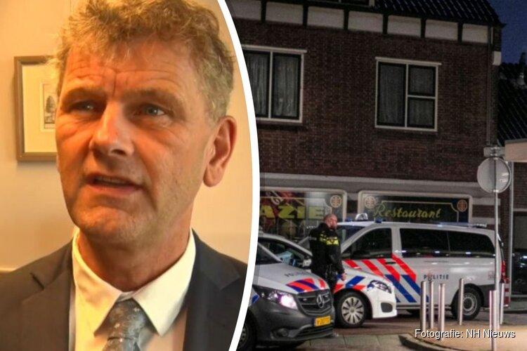 Burgemeester Beverwijk toont medeleven aan overvallen ondernemers