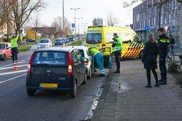 Kop-staartaanrijding op Laan der Nederlanden