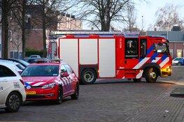 Brandstichting in trappenhuis van flatgebouw in Beverwijk
