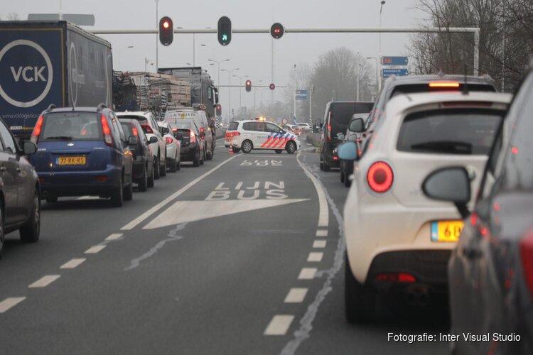 Opnieuw file rondom Beverwijk: Velsertunnel dicht door technische problemen