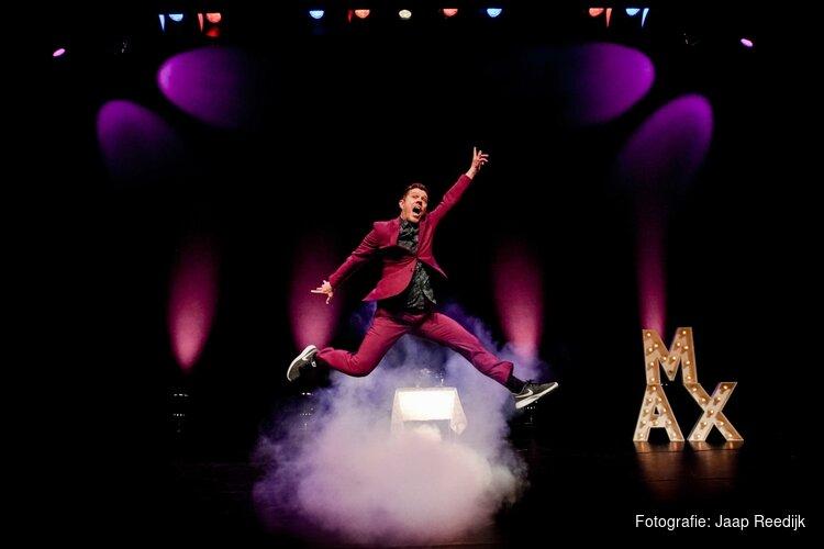 Max van den Burg: dynamisch, muzikaal, maar bovenal hilarisch