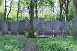 Joods Namenmonument op begraafplaats Duinrust