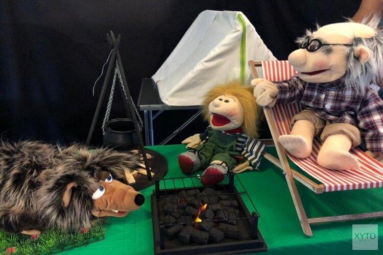 Theatervoorstelling over de wolf op Kinderboerderij De Baak