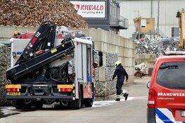 Twee zwaargewonden bij beknelling op bedrijfsterrein Beverwijk, één kritiek