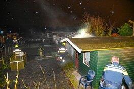 Brand in glazen kas door ongediertebestrijding in Beverwijk