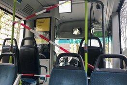 Niet meer voorin instappen in bussen vanwege Corona