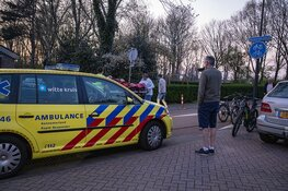 Fietser gewond na botsing tegen paal in Beverwijk