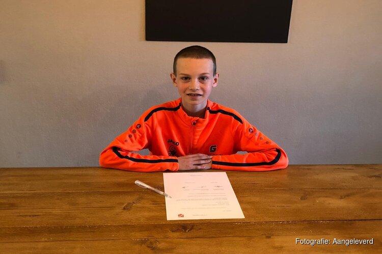 DEM jeugdspeler Bodhi Eilander naar FC Volendam