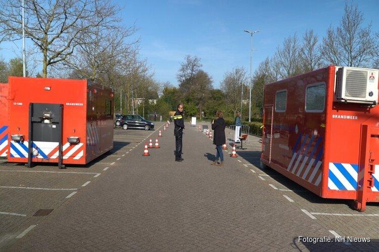 Ruim 1.300 coronatesten in zes dagen bij GGD-teststraat in Haarlem: 16 positief