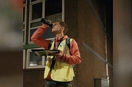 Verdachte figuren op straat blijken vleermuisonderzoekers