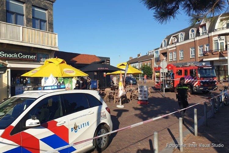 Brand in snackbar Wijk Aan Zee