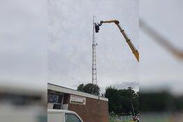 Radio Beverwijk neemt nieuwe zender en antenne in gebruik