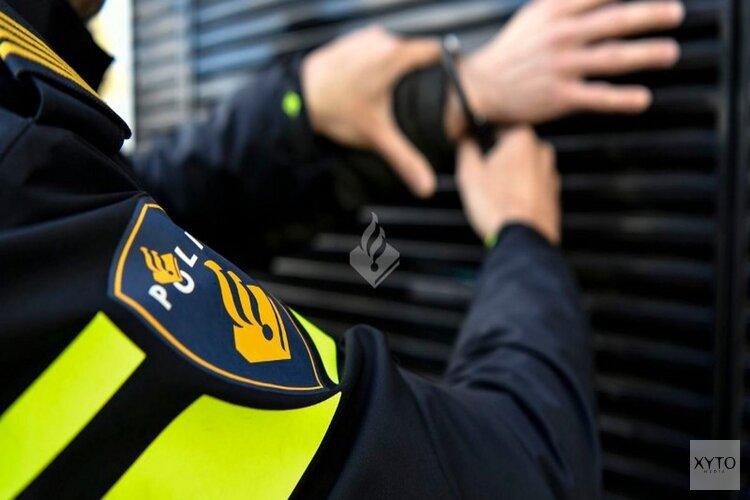 Inbrekers lopen in de handen van politie