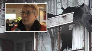 """Dakdelen vliegen door ruiten in Beverwijk: """"Stond met mijn buurvrouw te huilen"""""""