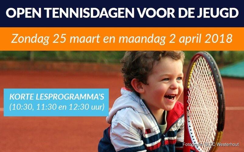 Open tennisdagen voor de jeugd bij BLTC Westerhout