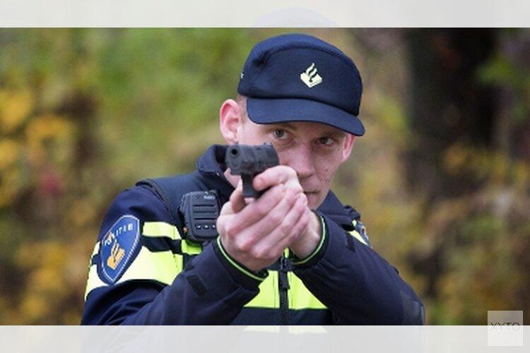 Mannen met wapen aangehouden