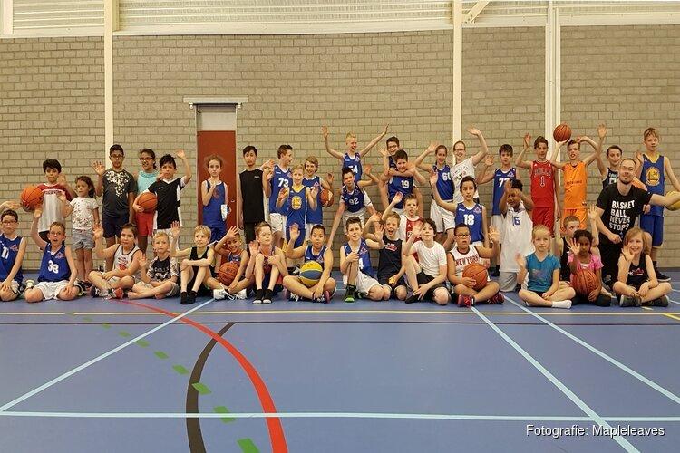 Basketballvereniging Mapleleaves viert dertig jarig jubileum