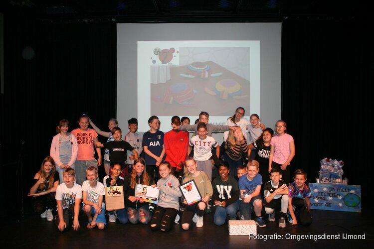 Groep 7 van OBS Tweespan wint Milieuheldenprijs 2018