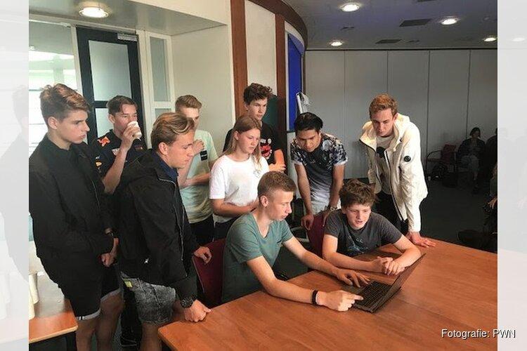 PWN ontvangt VWO-leerlingen voor exclusieve rondleiding in waterfabriek in Heemskerk