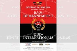 BVV de Kennemers tegen Oud-Internationals op 30 juni