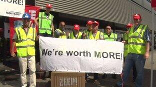 Medewerkers Paragon demonstreren in Noorwegen om ontslagregeling