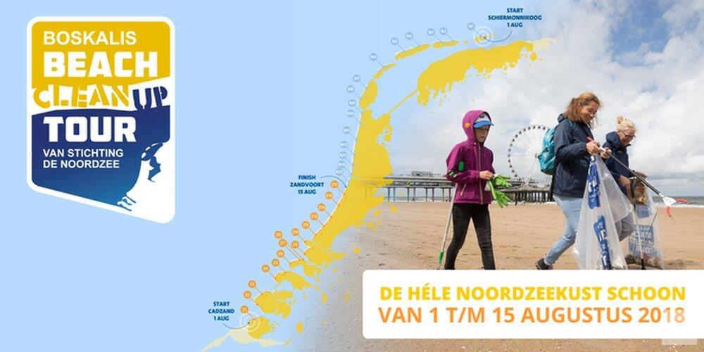 Gezocht: vrijwilligers voor schoonmaakactie op Noordzeestranden