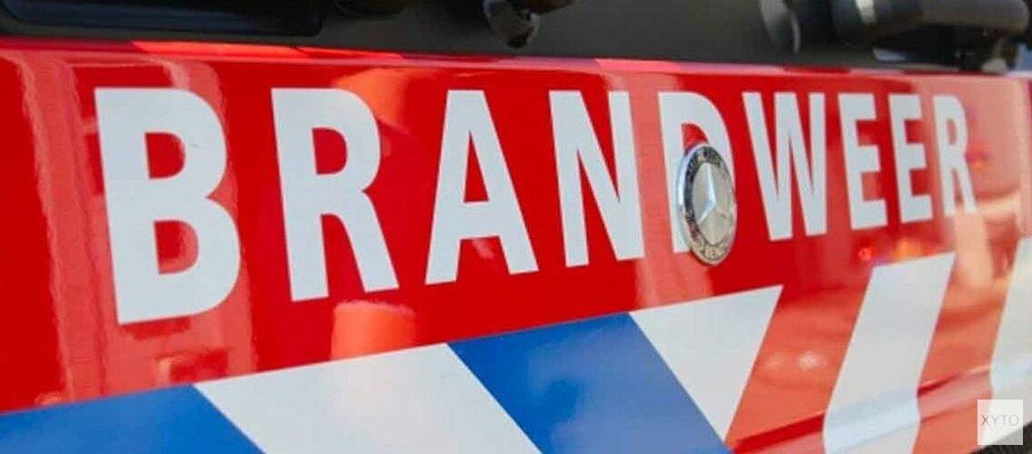 Berm vliegt in brand langs A9 bij Heemskerk
