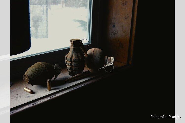 Twee handgranaten op straat gevonden in Beverwijk
