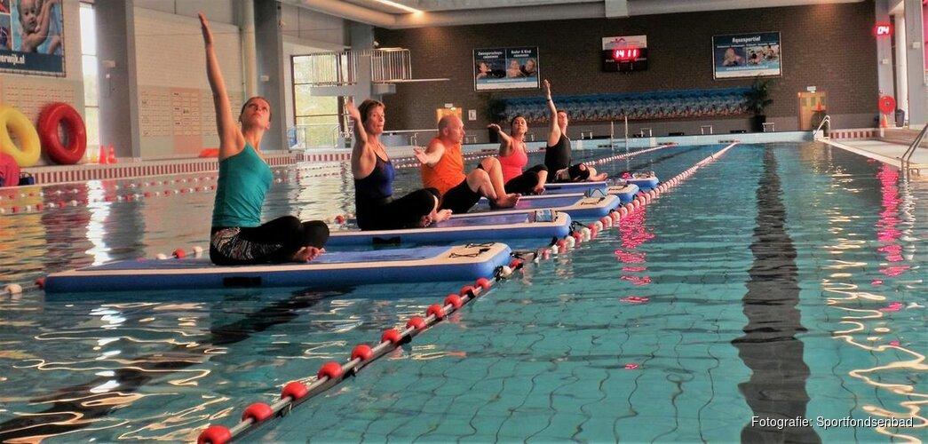 Alle aqua sporten uitproberen tijdens de open dag van het Sportfondsenbad
