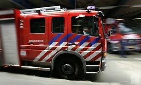 Auto compleet afgebrand op de Bachstraat in Heemskerk