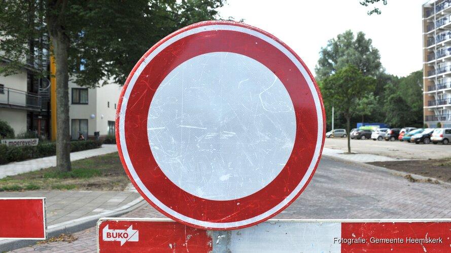 Werk aan asfalt door heel Heemskerk