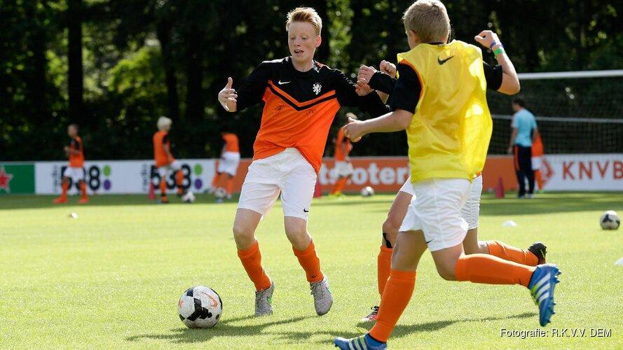 KNVB selecteert maar liefst dertien spelers uit DEM jeugd
