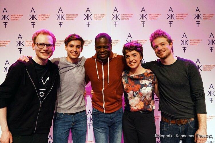 Drie korte voorstellingen op één avond in het Kennemer Theater; Finalistentour AKF Sonneveldprijs 2018