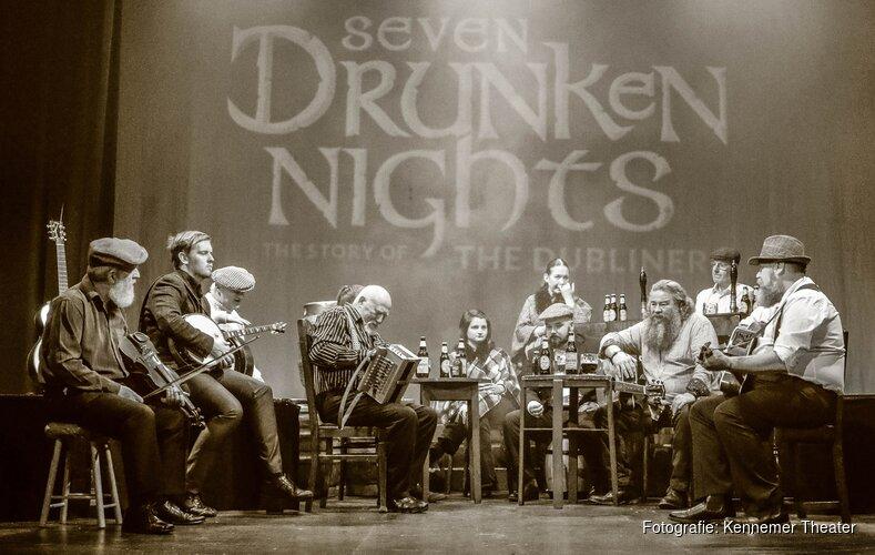 Eerbetoon aan The Dubliners; Seven Drunken Nights in het Kennemer Theater