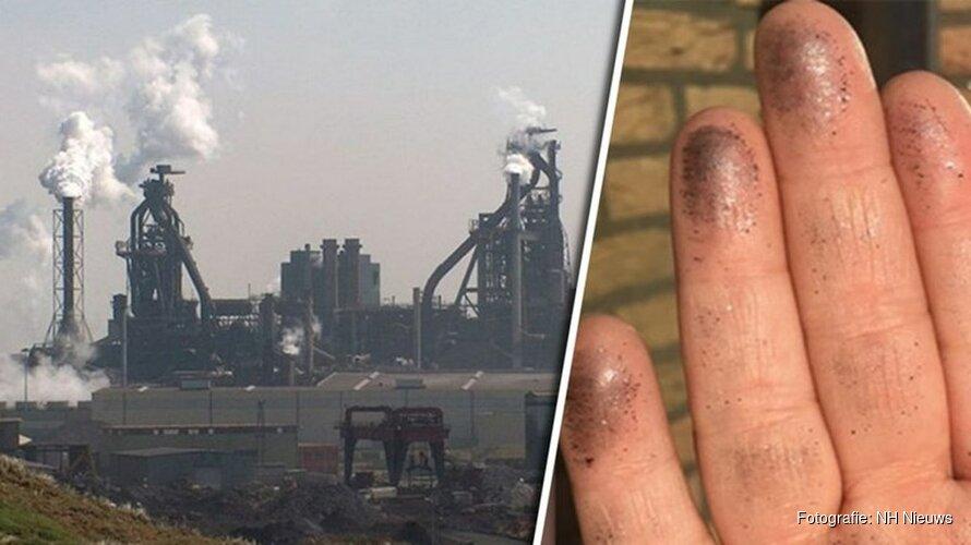 Afgelopen week vier keer te hoge uitstoot bij Tata Steel: 20.000 euro boete