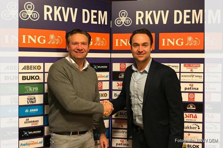 R.K.V.V. DEM en Arvid Smit verlengen succesvolle samenwerking