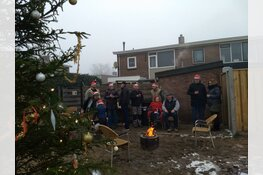 Bewoners blij met kerstboom