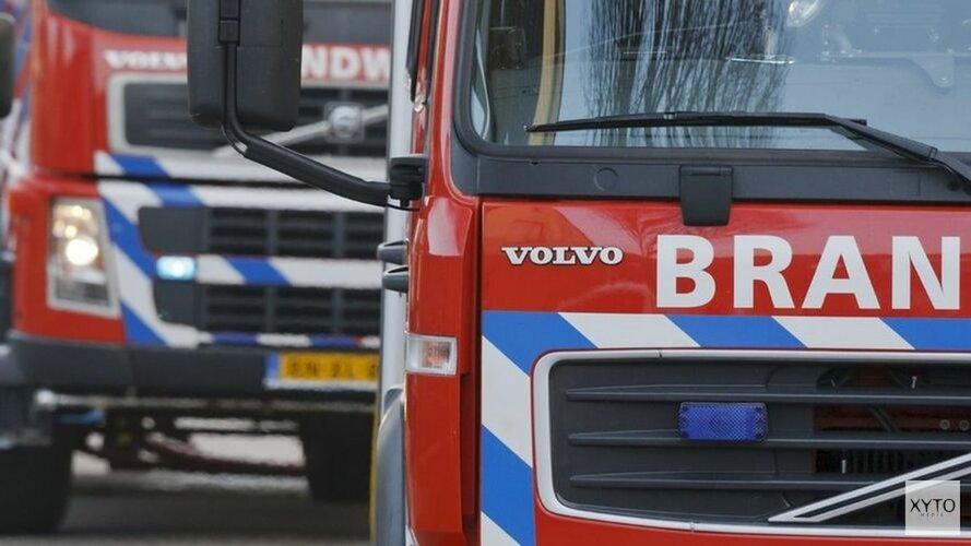 Gevel van wooncomplex Beverwijk zwaar beschadigd na brand